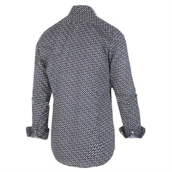 Blue Industry casual overhemd 1257.92 in het Marine