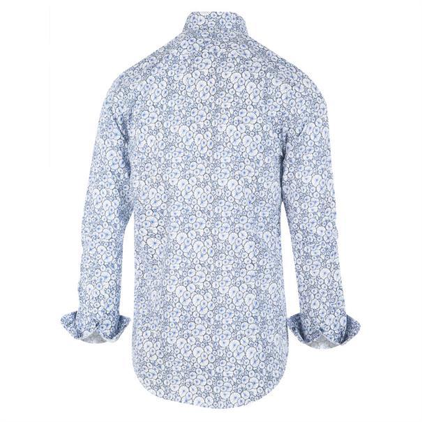 Blue Industry casual overhemd 1262.92 in het Wit