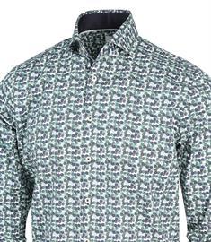 Blue Industry casual overhemd 2163.22 in het Mint Groen