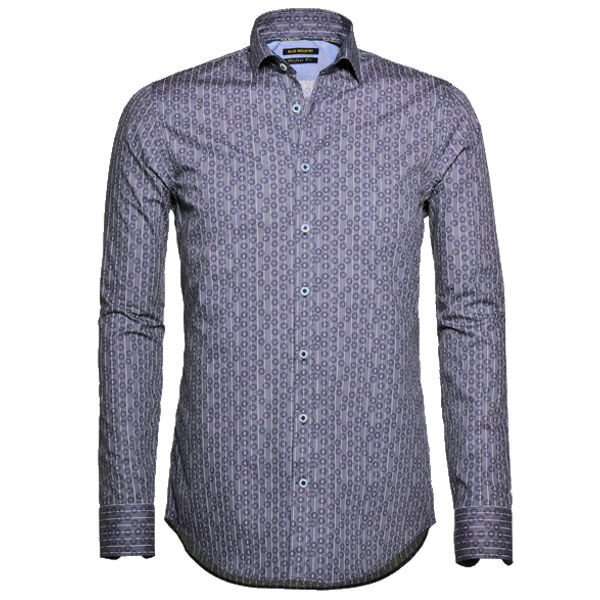 Blue Industry casual overhemd 778.62 in het Donker Blauw