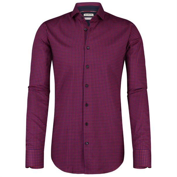Blue Industry casual overhemd 891-72 in het Rood