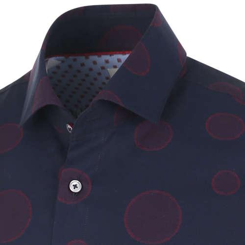 Blue Industry casual overhemd Slim Fit 1145.92 in het Marine