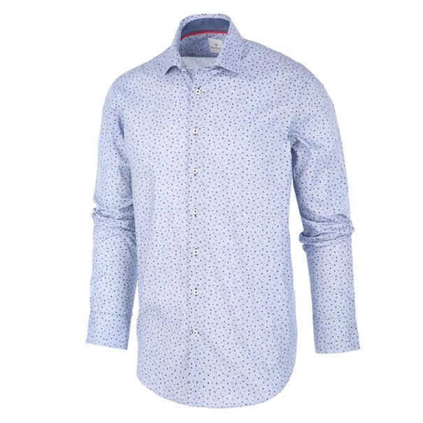 Blue Industry casual overhemd Slim Fit 1293.92 in het Marine