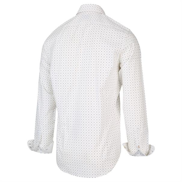 Blue Industry casual overhemd Slim Fit 2004.21 in het Wit