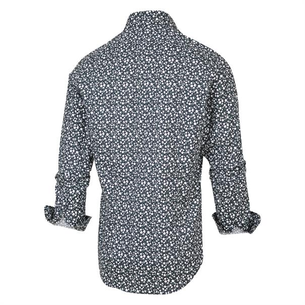 Blue Industry casual overhemd Slim Fit 2062.21 in het Marine