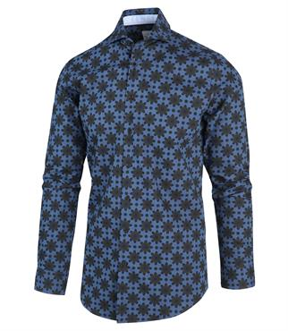 Blue Industry casual overhemd Slim Fit 2117.22 in het Licht Denim