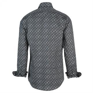 Blue Industry casual overhemd Slim Fit 2155.22 in het Marine