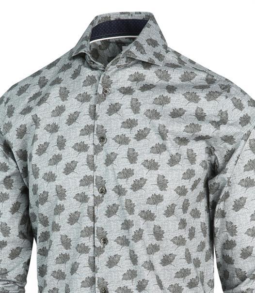 Blue Industry casual overhemd Slim Fit 2190.22 in het Mint Groen