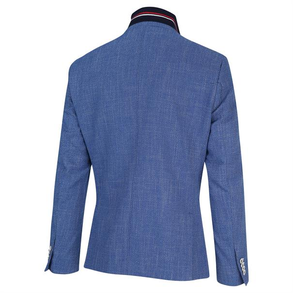 Blue Industry colbert Slim Fit JBIS20-M32 in het Marine