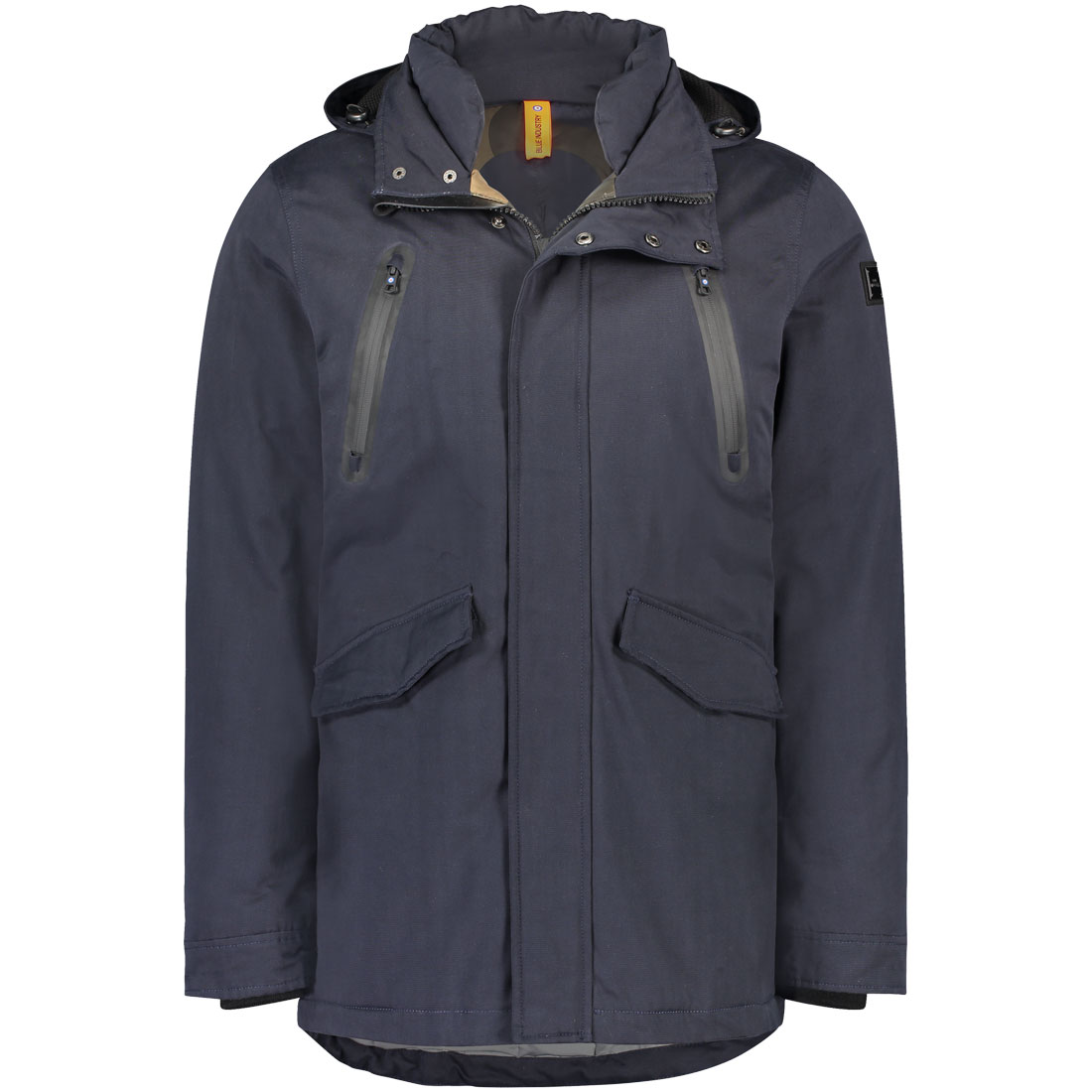 Blue Industry jack obiw18-m50 in het Marine