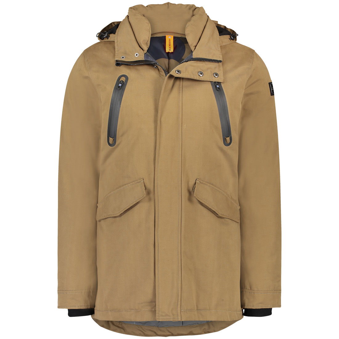 Blue Industry jack obiw18-m50 in het Taupe