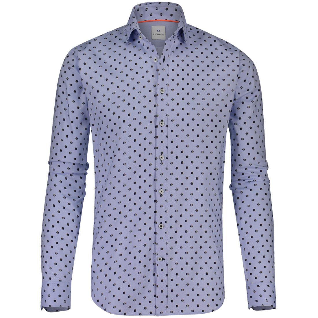 Image of Blue Industry overhemd 1037-82 in het Licht Blauw