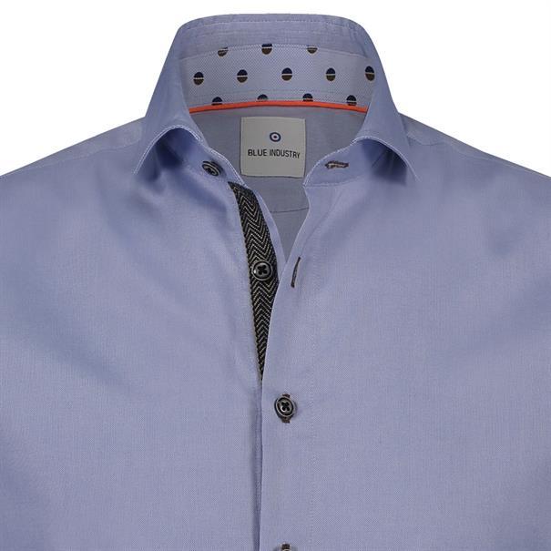 Blue Industry overhemd 1038-82 in het Licht Blauw