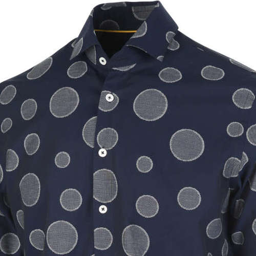 Blue Industry overhemd 1155.92 in het Marine