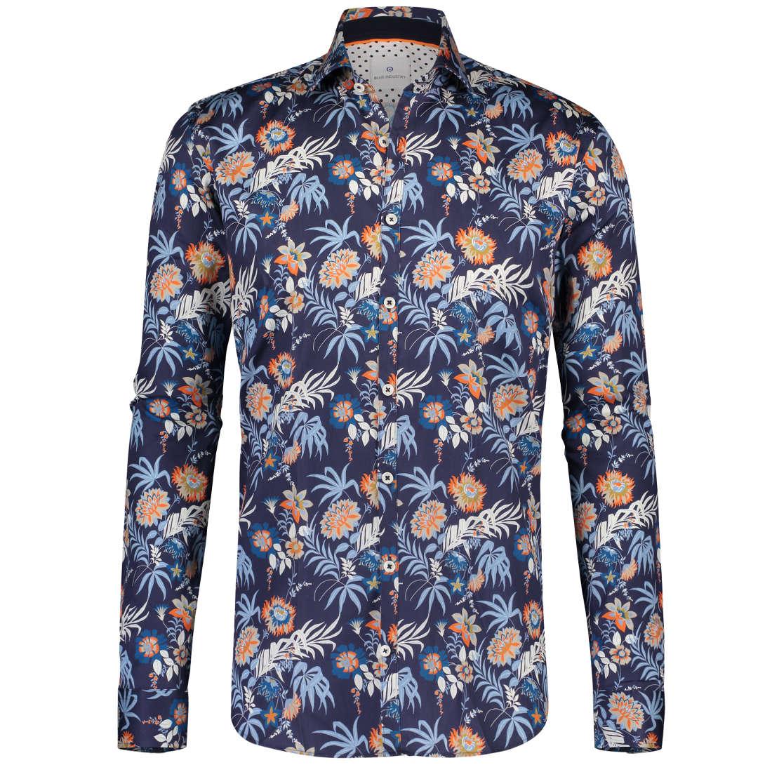 Blue Industry overhemd 1220-91 in het Oranje