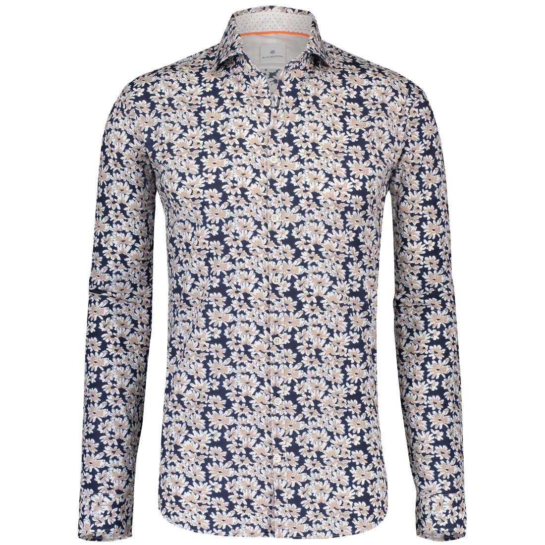 Blue Industry overhemd 1239-91 in het Beige