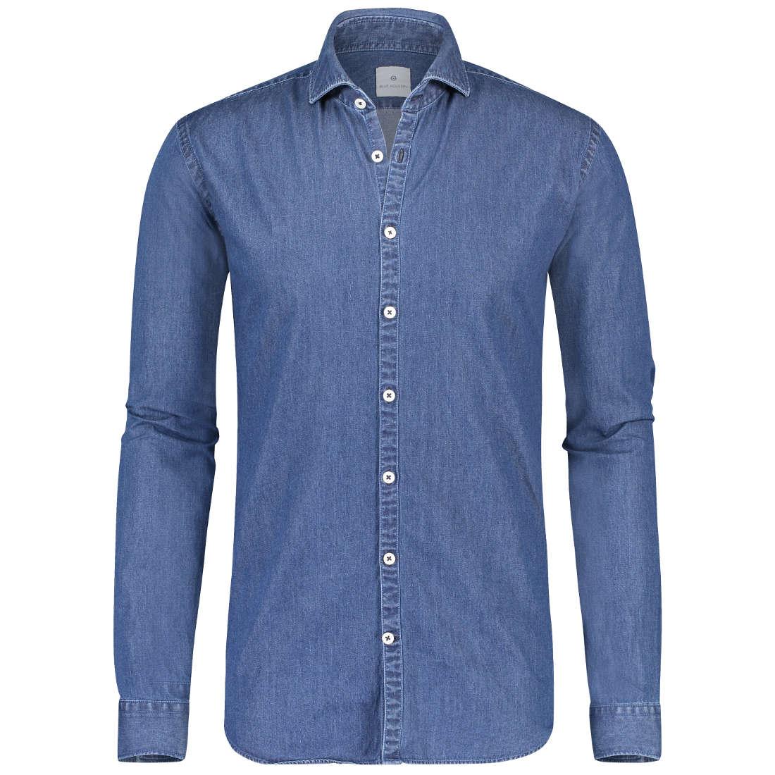 Blue Industry overhemd 1242-91 in het Stonewash