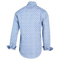 Blue Industry overhemd 2104.22 in het Marine