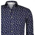 Blue Industry overhemd Slim Fit 1114-91 in het Donker Blauw