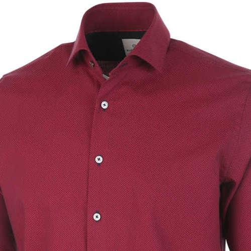 Blue Industry overhemd Slim Fit 1146.92 in het Rood