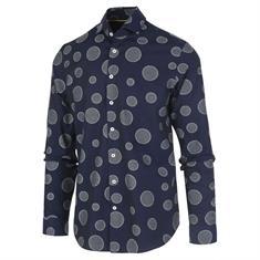 Blue Industry overhemd Slim Fit 1155.92 in het Marine