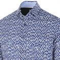 Blue Industry overhemd Slim Fit 1159.92 in het Kobalt
