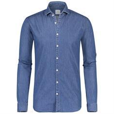 Blue Industry overhemd Slim Fit 1242-91 in het Stonewash