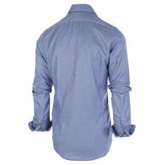 Blue Industry overhemd Slim Fit 1264.92 in het Marine