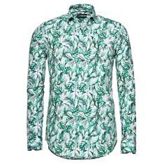 Blue Industry overhemd Slim Fit 808 in het Groen