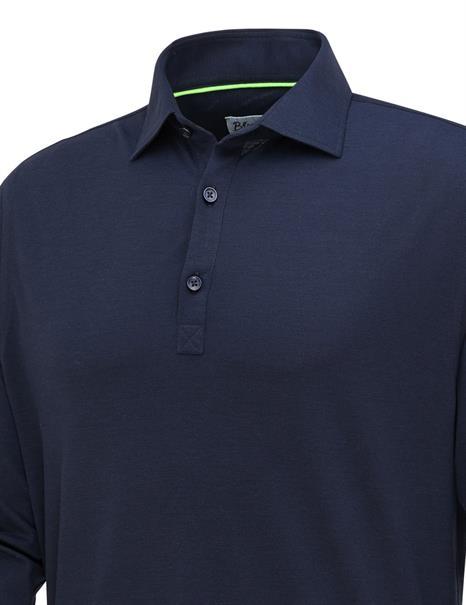 Blue Industry polo's 2357.11. in het Donker Blauw