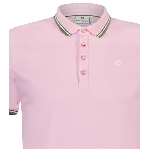 Blue Industry polo's kbis19-m21 in het Roze