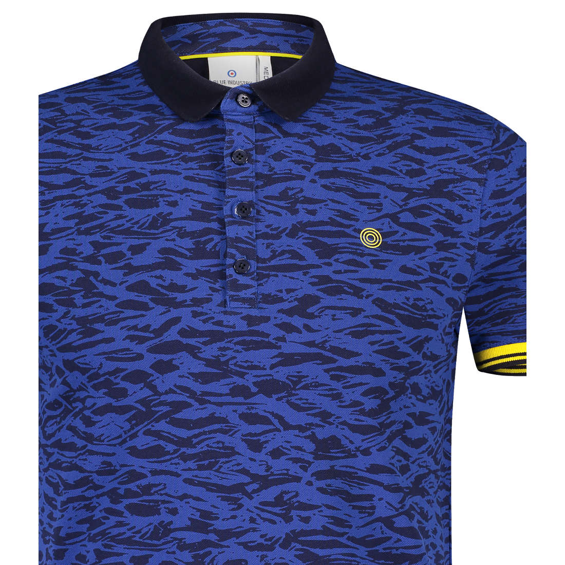 83a675c1fb5 Blue Industry polo's kbis19-m25 in het Donker Blauw