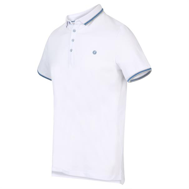 Blue Industry polo's Slim Fit KBIS20-M24 in het Wit