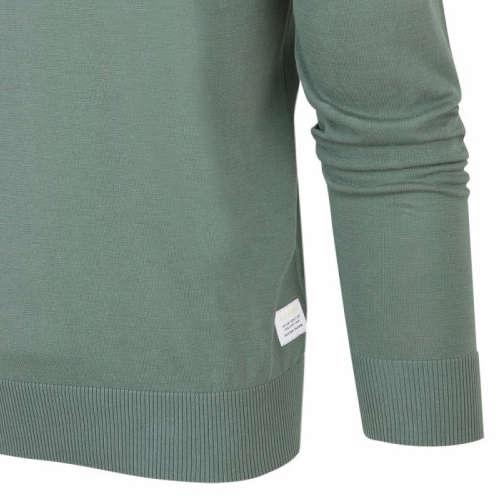 Blue Industry ronde hals trui Slim Fit KBIS20-M1 in het Groen