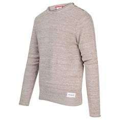 Blue Industry ronde hals trui Slim Fit KBIS20-M19 in het Beige