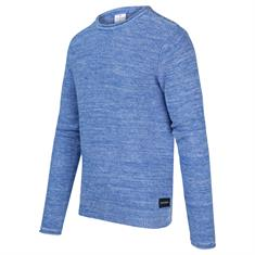 Blue Industry ronde hals trui Slim Fit KBIS20-M19 in het Kobalt