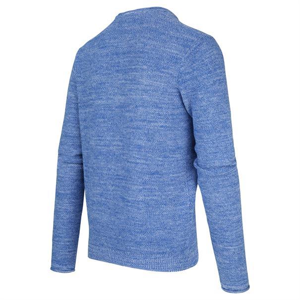 Blue Industry ronde hals trui Slim Fit KBIS20-M19 in het Kobalt