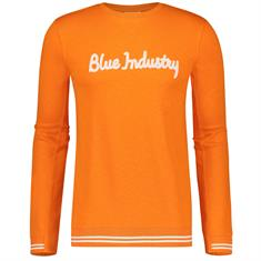 Blue Industry sweater kbis19-m60 in het Oranje
