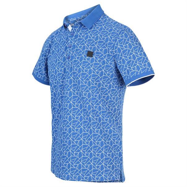 Blue Industry t-shirts Slim Fit KBIS20-M34 in het Kobalt