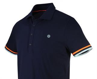 Blue Industry t-shirts Slim Fit KBIS20-M80 in het Kobalt