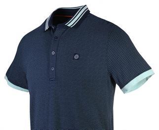 Blue Industry t-shirts Slim Fit KBIS20-M81 in het Kobalt