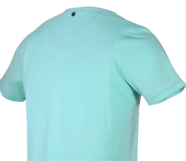 Blue Industry t-shirts Slim Fit KBIS20-M88 in het Mint Groen
