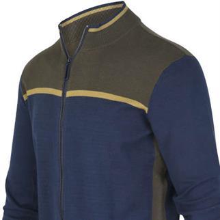 Blue Industry vest KBIW19-M10 in het Denim