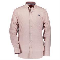Bluefields overhemd 21435005 in het Donker Rood