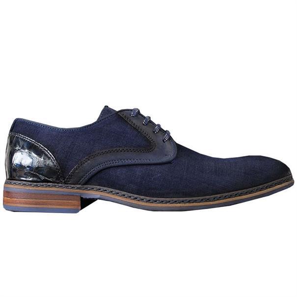 Braend schoenen 15916 in het Donker Blauw