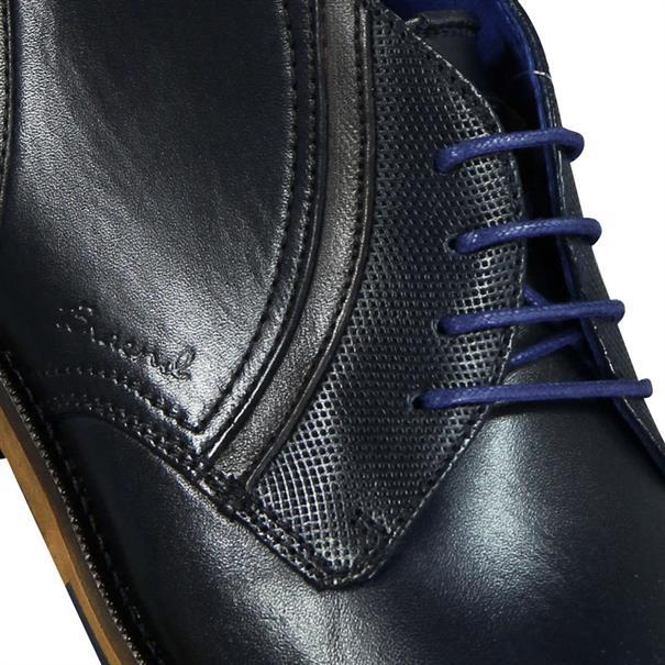 Braend schoenen 24704 in het Donker Blauw