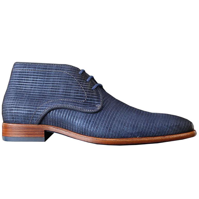 Braend schoenen 24795 in het Donker Blauw