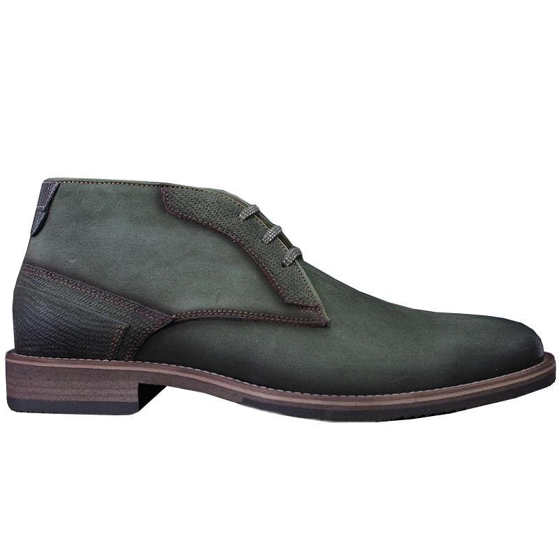 Braend schoenen 24822 in het Groen
