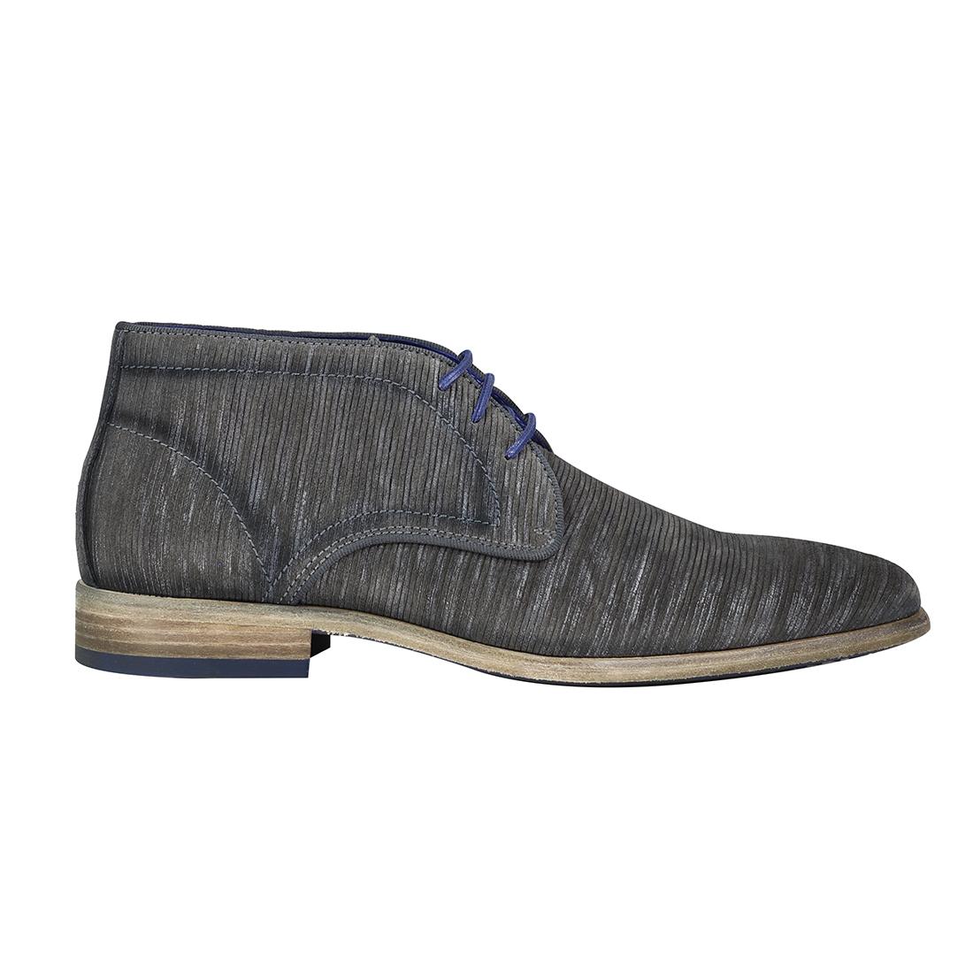 Braend schoenen 24981 in het Grijs