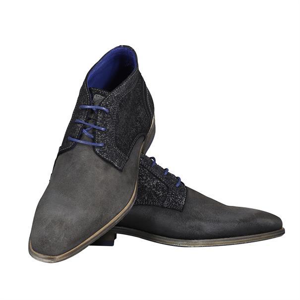 Braend schoenen 24982 in het Grijs